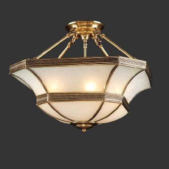 欧式全铜吊灯 巴洛克焊锡玻璃吊灯 欧式卧室吊灯
