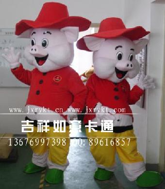 供应吉祥如意卡通人偶服装 米老鼠卡通服装 热销冠军