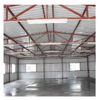 包括钢柱子,钢梁,钢结构基础,钢屋架(当然厂房的跨度比较大,基本现在