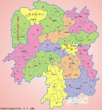 青岛至武汉长沙专线湖南湖北全境