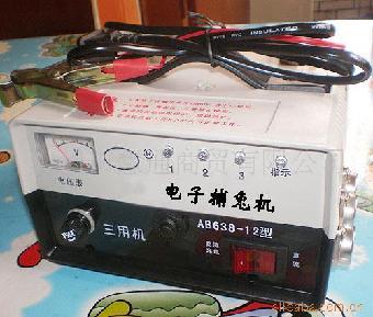 六,捕兔机的注意事项:    1,因电压太高,严禁用电笔去测高压