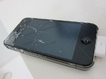 景德镇iphone手机维修进水不开机 屏幕破裂 白