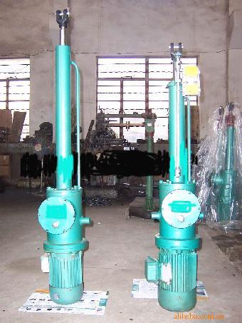 二,工作原理与结构简介1,工作原理电液推杆以电动机为动力源,通过双向