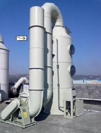 广绿酸碱废气处理设备-酸碱废气净化塔