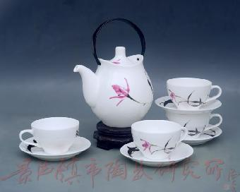 景德镇陶瓷茶具 中国工艺美术大师赖德全大师设计