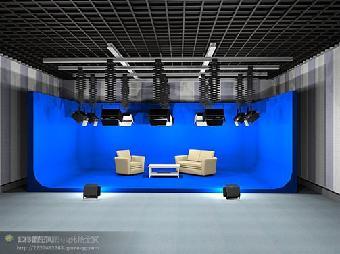 新聞演播廳燈光設計