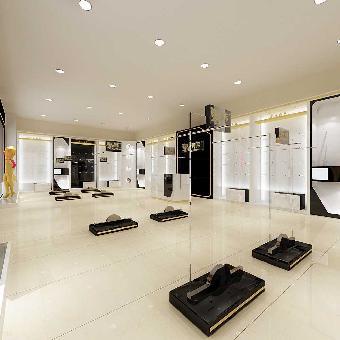 义乌烤漆展柜制作 室内设计 店面装修