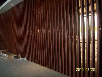 买清远木纹铝方通 买木纹铝格栅 买木纹铝单板