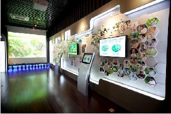 上海派诺广告有限公司提供企事业展厅设计