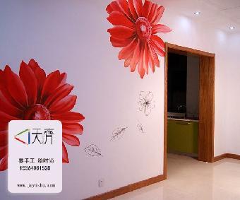 长沙手绘墙画质量怎么辨别呢不专业的长沙手绘墙画一般都会