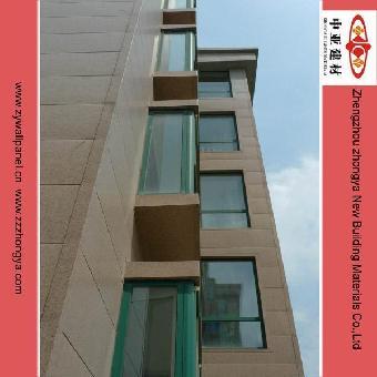 框架结构,钢结构,轻体房等类型建筑外墙的保温装饰,也适用于既有建筑