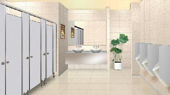 卫生间外隔断卫生间隔断支图片2
