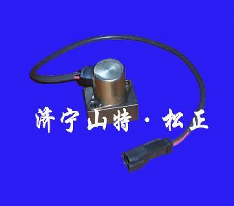 小松360-7液压泵电磁阀,旋转电磁阀,山特松正图片