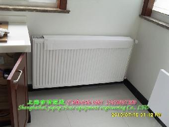 装修好的房子怎么做暖气散热器地暖明管散热器帮您解决
