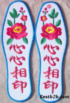 【十字绣鞋垫半成品 印花图案