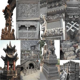 衡山模具厂生产水泥中式仿古建筑构件模具