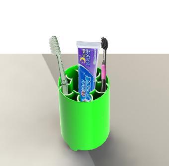 幼儿园手工制作牙杯
