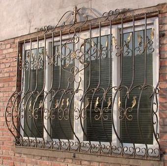 天津铁艺护栏,天津铁艺护窗,天津不锈钢护窗