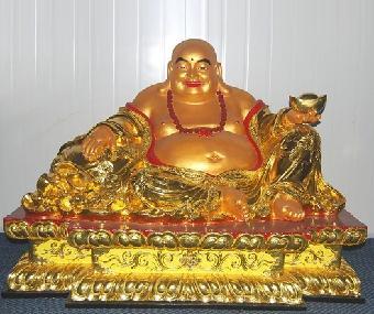厂家专业订制宗教寺院佛像 铜雕弥勒佛 铜雕观音工艺品