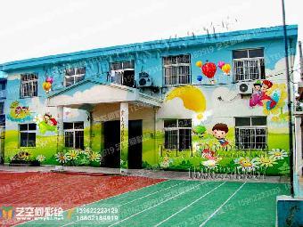 空间墙体彩绘专业供应幼儿园墙体彩绘,围墙墙体喷画,娱乐场所墙体手绘
