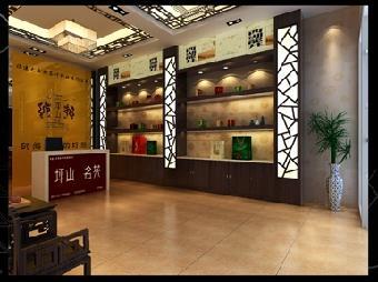 店面装修主要是大方得体,线条流畅,一般应采用木质的装饰材料,茶店的