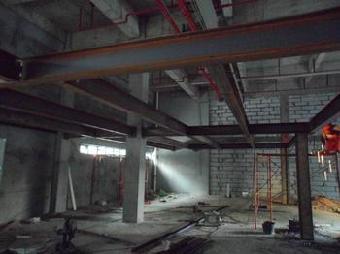 安装,焊接北京 腾达钢结构承接阳光房工程,阁楼安装,铁艺楼梯消防管道