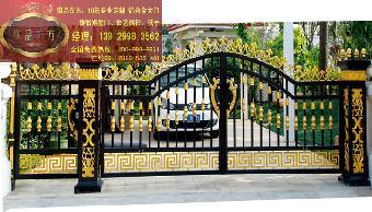 钢围墙大门款式图片_农村别墅围墙大门图片,不锈钢 ...