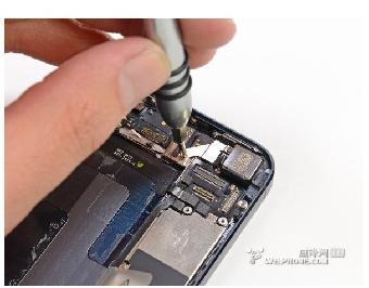 北京iphone5手机进水不开机维修黑屏维修_志的手机边小黑图片