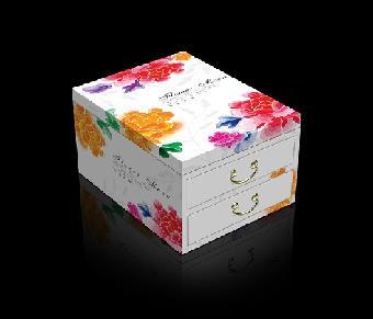 多边形蛋糕包装盒结构图