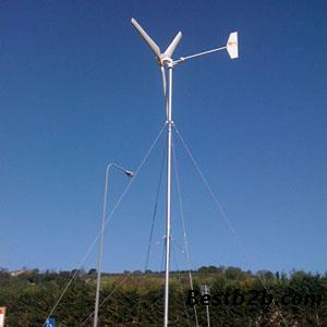 厂家直销水平轴2kw风力发电机组,小型家用,养殖用风力