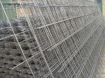 镀锌钢丝网片钢结构施工
