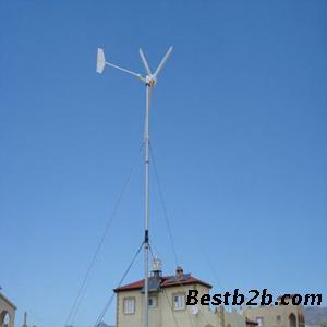 蜂鸟2kw风力发电机 冀形风叶 iso9000认证 发电量大