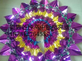 手工亮圈批发,雄县新顺殡葬 产品介绍   用鲜花或者纸花等扎成的环形