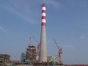 (二)电厂冷却塔,尿素造粒塔