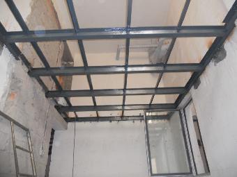 石家庄钢结构楼梯制作,商铺二层,别墅隔层搭建
