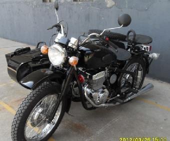 全新长江750边三轮摩托车