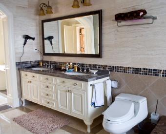 别墅浴室柜定制