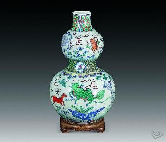 清代康熙斗彩瓷器市场价格 能卖多少钱图片