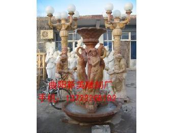 石雕柱子,石雕风水球,石雕伟人像,名人雕塑,石雕壁泉,石雕欧式灯人