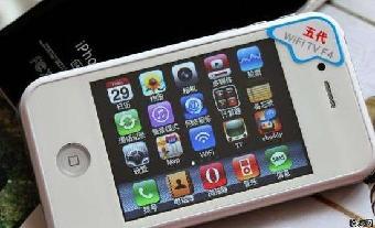供应高仿苹果5手机 智能双核 高仿苹果手机多少钱