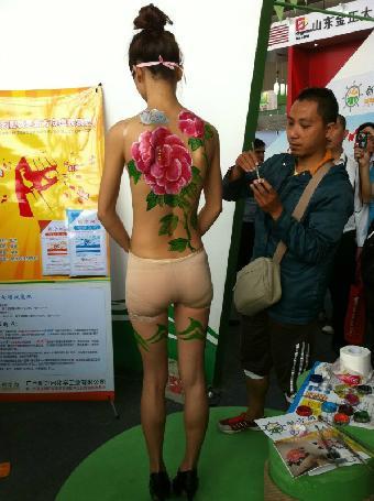广西北海人体彩绘 北海人体彩绘