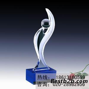 惠州美容美发行业年终奖杯定做,惠州发型设计大赛奖杯