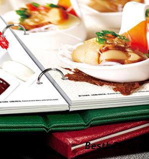高档多种印刷装订-高档菜谱制作-款式装订菜谱减肥食谱温性图片