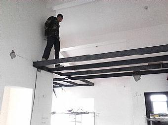 石家庄钢结构隔层制作 别墅钢结构二层搭建