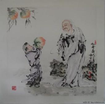 范曾的画多少钱_南京市范曾的人物 画多少钱 一平尺
