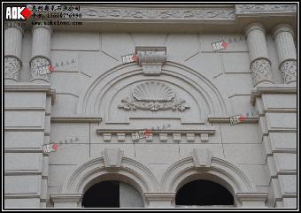 承接欧式别墅石材外墙干挂效果图设计及生产安装工程