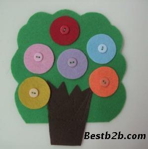 幼儿园手工制作大树