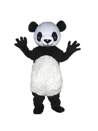 成都大熊猫卡通行走人偶服装出租