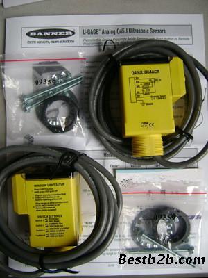 美国banner邦纳超声波传感器
