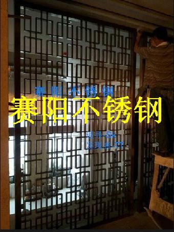 不锈钢大门不锈钢屏风不锈钢花格不锈钢门套